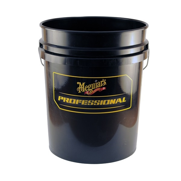 MEGUIAR'S PROFESSIONAL WASH BUCKET COMBO - BLACK