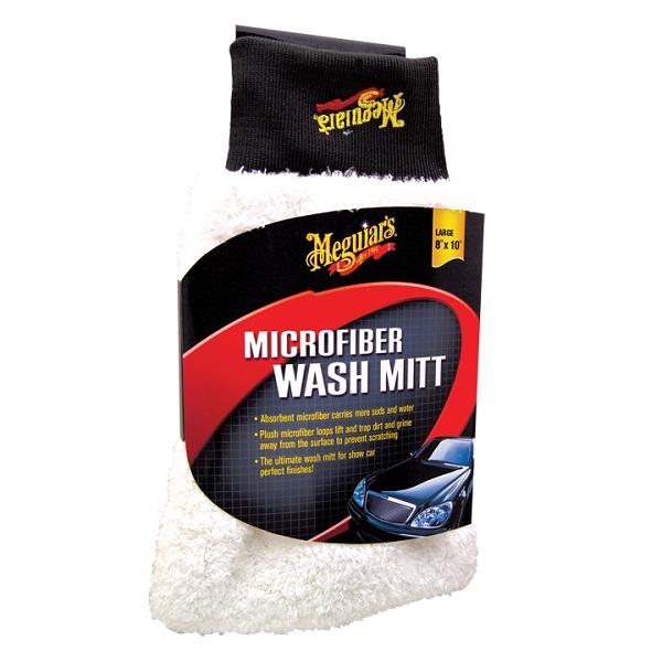 MEGUIAR'S MICROFIBER WASH MITT RĘKAWICA DO MYCIA